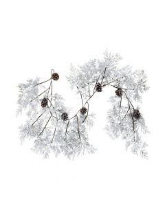 Snowy Evergreen Garland