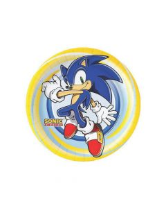 Sonic the Hedgehog Paper Dinner Plates - 8 CT.