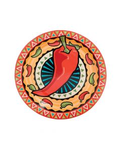 Southwest Chilies Paper Dinner Plates
