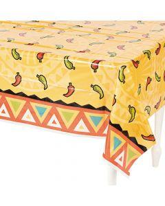 Southwest Chilies Plastic Tablecloth