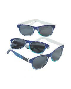 Space Galaxy Sunglasses - 12 Pc.