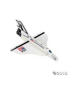Space Shuttle Foam Gliders
