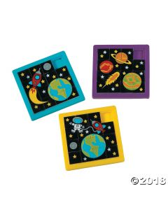 Space Slide Puzzles