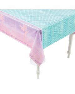 Sparkle Mermaid Plastic Tablecloth