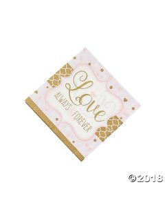 Sparkling Wedding Lunch Napkins