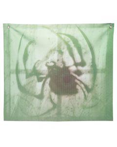 Spider Shadow Window Backdrop Halloween Decoration