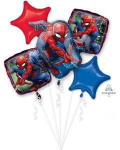 Spiderman Animated Balloon Bouquet
