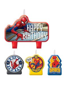 Spiderman Web Candle Set