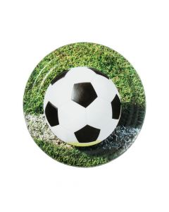 Sports Fanatic Soccer Dinner Paper Plates