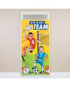 Sports VBS Photo Door Banner