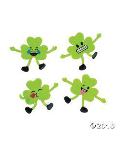 St. Patrick's Day Emoji Shamrock Bendables