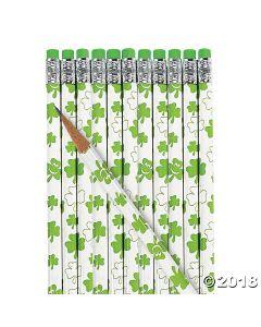 ST. Patricks Day Pencils