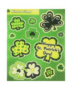St. Patrick's Day Window Clings