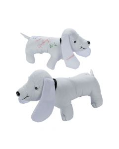 Stuffed Autograph Dog