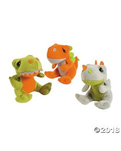 Stuffed Dinosaurs
