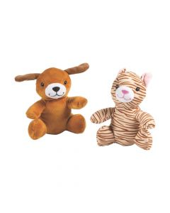 Stuffed Meowing Cats and Barking Dogs