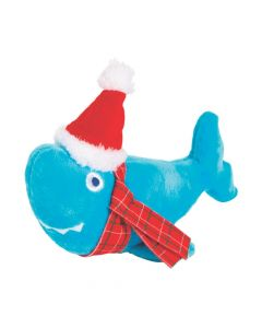 Stuffed Santa Sharks