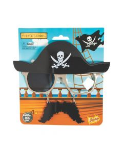 Sun-Staches Pirate Sunglasses