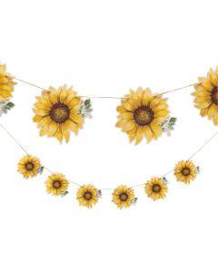Sunflower Party Garland