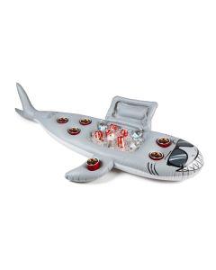 Super Chill Shark Swim up Inflatable Bar/cooler