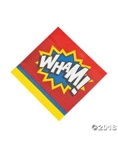 Superhero Lunch Napkins