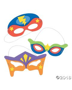 Superhero Mask Craft Kit
