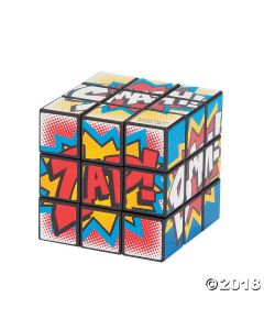 Superhero Mini Magic Cubes