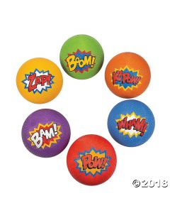 Superhero Playground Balls
