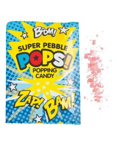 Superhero Popping Hard Candy Fun Packs
