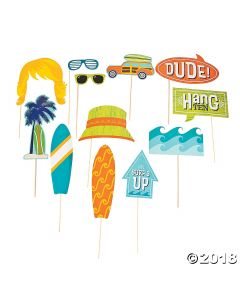 Surfs up Photo Stick Props