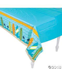 Surfs up Plastic Tablecloth