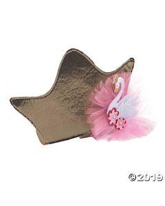 Sweet Swan Baby Headband Crown