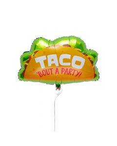 "Taco 18"" Mylar Balloons"