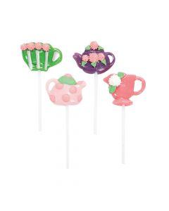 Tea Party Character Lollipops