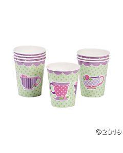 Tea Party Paper Cups