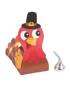 Thanksgiving Friends Turkey Favor Boxes