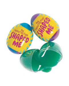 The Resurrection Shaped Me Putty-Filled Eggs