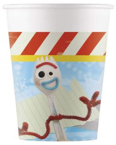 Toy Story 4 Paper Cups 200ML 8CT