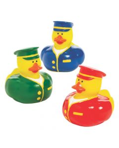 Train Conductor Rubber Duckies