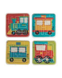 Train Maze Puzzles