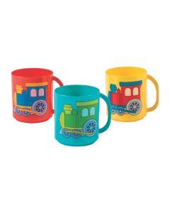 Train Plastic Mugs
