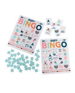 Tribal Baby Shower Bingo Game