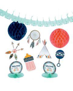 Tribal Baby Shower Decorating Kit
