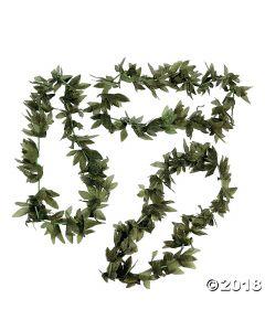 Tropical Fern Leaf Leis