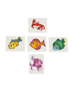 Tropical Fish Tattoos