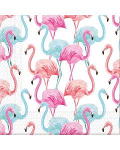 Tropical Flamingo Eco Napkins