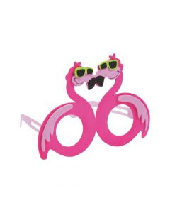 Tropical Flamingo Kids' Glasses Craft Kit