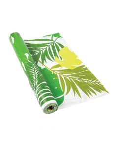 Tropical Leaf Tablecloth Roll