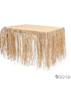 Tropical Luau Table Skirt