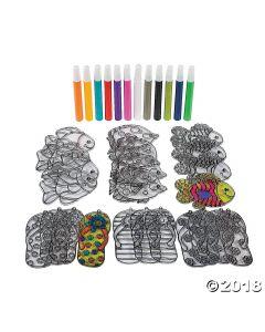 Tropical Suncatcher Craft Kit
